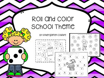 Roll And Color -School