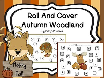 Roll And Cover Autumn Woodland Animals
