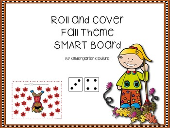 Roll And Cover -Fall (SMART Board)