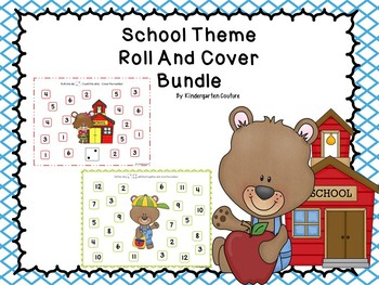 Roll And Cover - School Theme Bundle