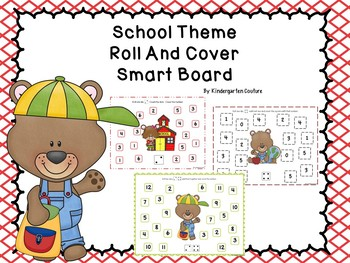 Roll And Cover - School Theme For Smart Board