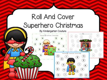Roll And Cover Superhero Christmas