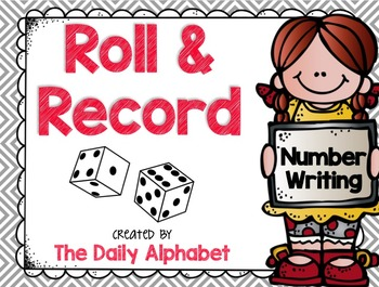 Roll And Record: Number Writing