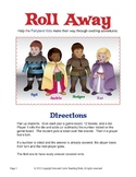 Roll Away Math Addition Game Sample