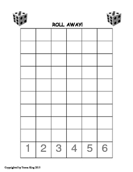 Roll Away Number Concept Game