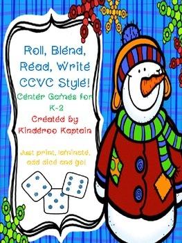 Roll, Blend, Read, Write CCVC Style