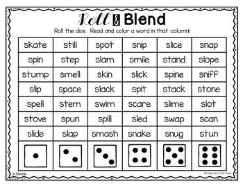 Roll & Blend {beginning blends!}