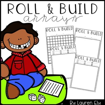 Roll & Build Arrays - Distance Learning