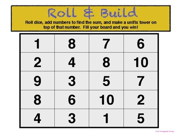 Roll & Build Game
