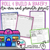 Roll & Build a Bakery: An Area & Perimeter Project