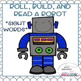 Roll, Build, and Read a Robot Sight Words