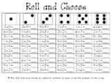 Roll Choose Add/Subract
