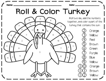 Roll & Color (Addition)