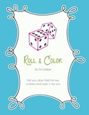 Roll & Color Addition Games