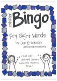 Roll & Color BINGO: Fry Sight Words