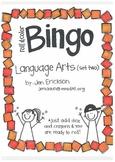 Roll & Color BINGO: Language Arts (set two)