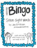 Roll & Color BINGO: Sitton Sight Words