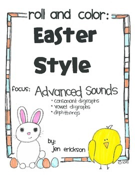 Roll & Color EASTER STYLE:  Advanced Sounds