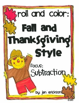 Roll & Color FALL AND THANKSGIVING STYLE: Subtraction