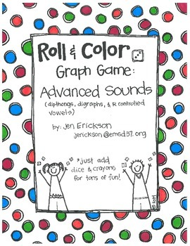Roll & Color-  Graph Games: Advanced Sounds