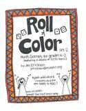 Roll & Color:  Math Games for grades k-2  (set 2)
