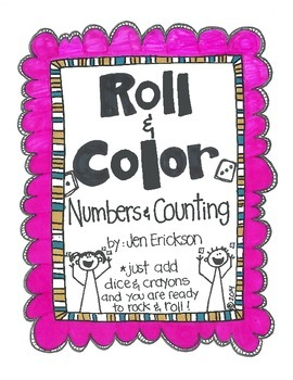 Roll & Color:  Numbers and Counting