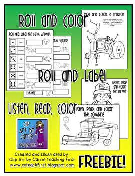 Roll, Color, Read, and Label Farming