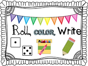 Roll, Color, Write (A Phonics Activity Pack)