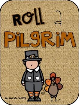 Roll & Color a Pilgrim