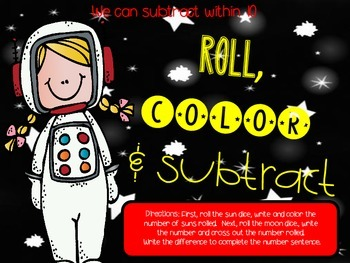 Roll, Color and Subtract