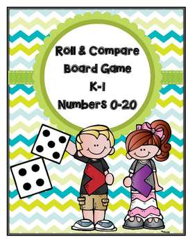 Roll & Compare: Numbers 0-20