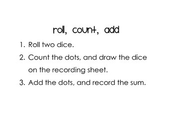 Roll, Count, Add