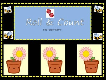 Roll & Count Math Practice