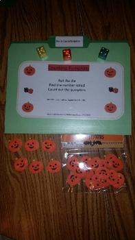 Roll & Count Pumpkins