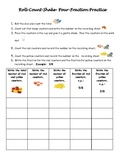 Roll Count Shake Pour Fraction Practice