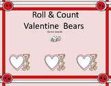 Roll & Count Valentine Bears