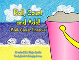 Roll, Count and Add - FREEBIE