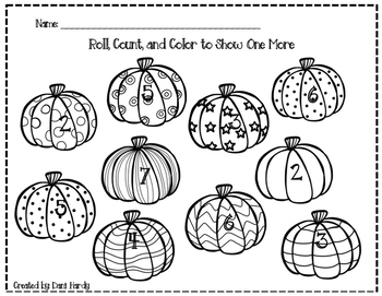Roll, Count, and Color Fall Pack