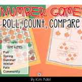 More and Less: Roll Count and Compare Game