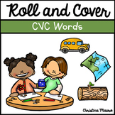 Roll & Cover {CVC Words}