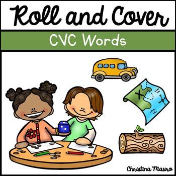 Roll & Cover {CVC Words}
