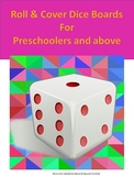 Roll & Cover Dice Boards for Preschool and above