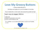 """Roll & Cover """"Love My Groovy Buttons"""""""