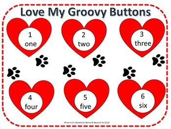 "Roll & Cover ""Love My Groovy Buttons"""