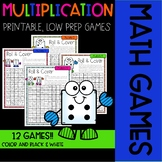 Roll & Cover MULTIPLICATION