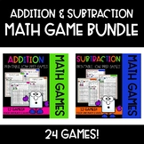 Roll & Cover Math Games! {BUNDLE ADDITION & SUBTRACTION}