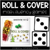 Roll & Cover Math Games (addition to 12)