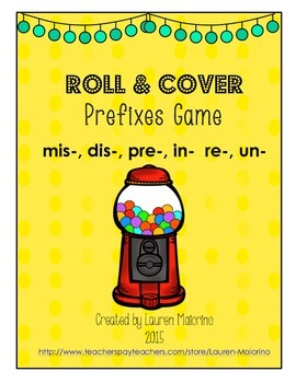 Roll & Cover Prefixes Games