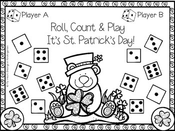 St. Patrick's Day {Roll and Cover Dice Games}