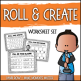 Roll & Create Rhythm Worksheets to use with Rhythm Dice
